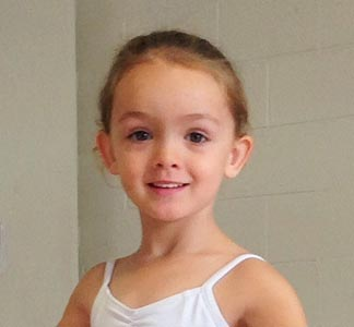 face of ballet